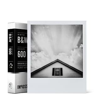 svart-vit film för 600kamera