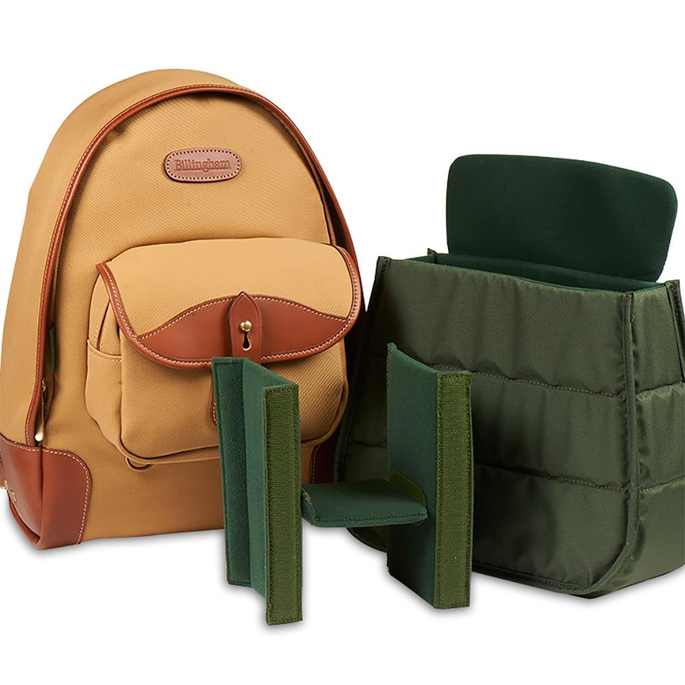 Billingham Ryggsck 35 Exponera Hadley Shoulder Bag Small Sage Choc Leather Trim