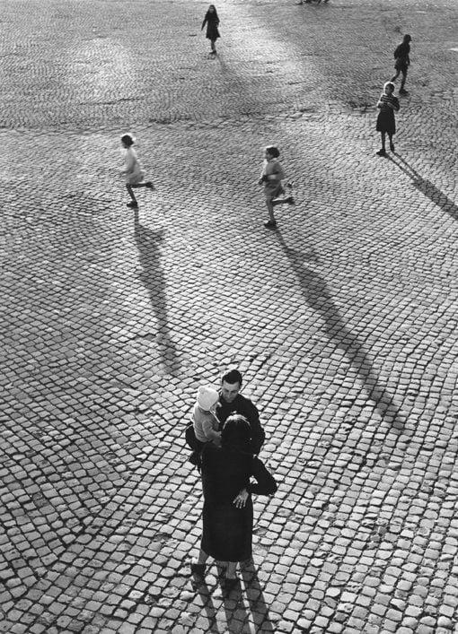 Pål-Nils Nilsson, Piazza del Popolo, Rom 1950.