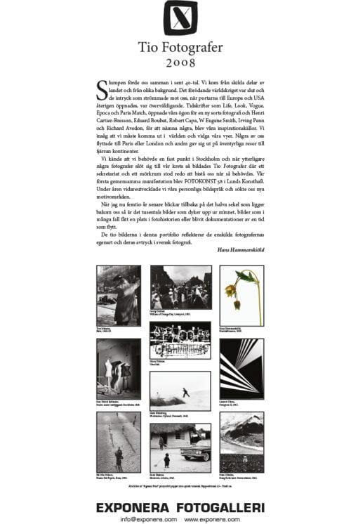 Presentation av Tio Fotografer